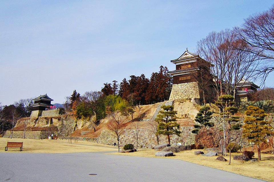 Ueda Castle Remains Park