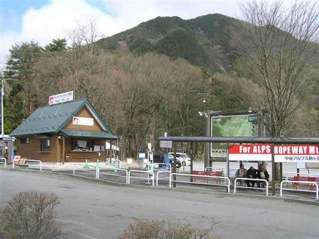 Suganodai Bus Center Parking